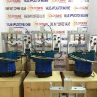42.Color Suns One Way Valve & Valve Applicator Machine.