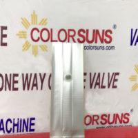 50.How is Color Suns One way valve and valve applicator machine work with the transparent coffee bag ?