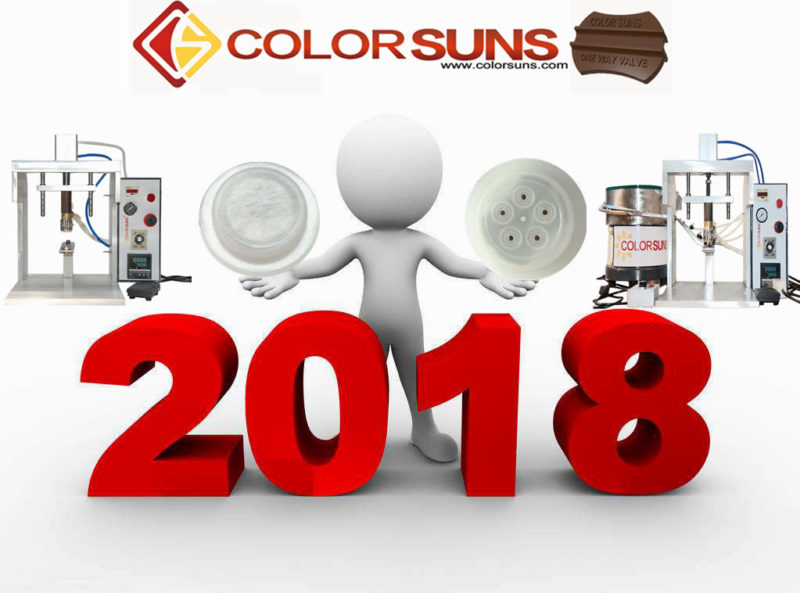 Coffee valve 2018-Color Suns